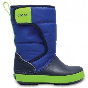 Crocs™LodgePoint Snow Boot K Blue Jean/Navy