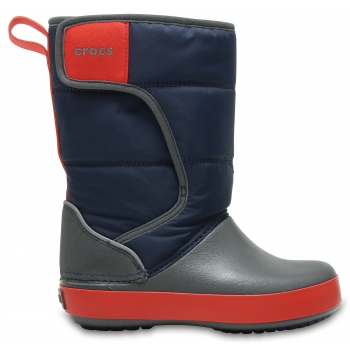 Crocs™LodgePoint Snow Boot K Navy/Slate Grey