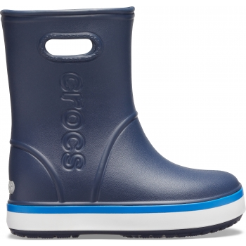 Crocband™ Rain Boot K Navy/Bright Cobalt