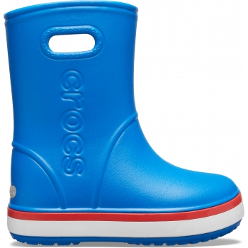 Crocband™ Rain Boot K Bright Cobalt/Flame