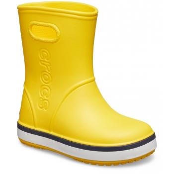 Crocband Rain Boot K Yellow/Navy