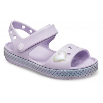 Kids' Crocband Imagination Sandal PS, Lavender