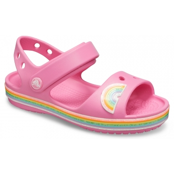 Kids' Crocband Imagination Sandal PS, Pink Lemonade