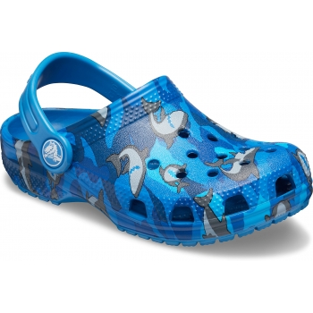 Classic Shark Clog PS Prep Blue