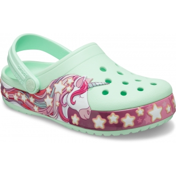 Funlab Unicorn Band Clog Kids, Neo Mint