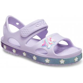 Crocband II Sandal K Funlab Unicorn Charm, Lavender