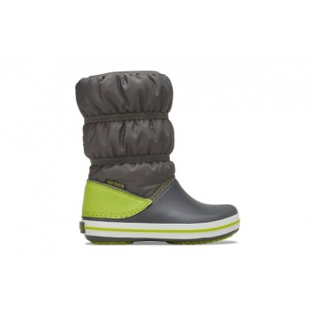 Crocband™  Winter Boot Slate Grey / Lime Punch