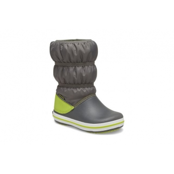Crocs Crocband Winter Boot Slate Grey / Lime Punch