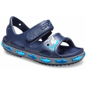 FunLab Shark Band Sandal K Navy