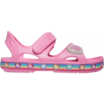 FunLub Rainbow Sandal Kids Pink Lemonade