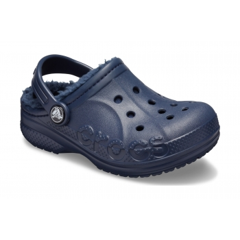 Baya Lined Clog Kid's Navy/Navy