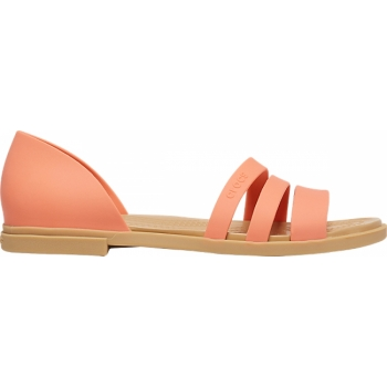 Tulum Open Flat Grapefruit/Tan