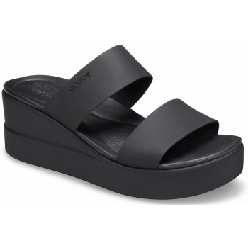Brooklyn Mid Wedge Black/Black