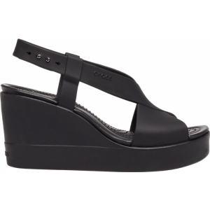 Crocs™Brooklyn High Wedge Black/Black