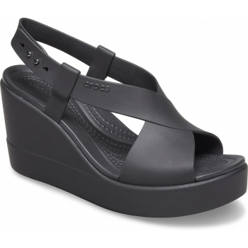 Brooklyn High Wedge Black/Black
