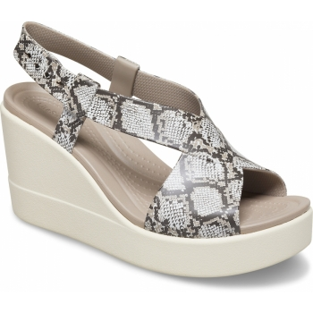 Brooklyn High Wedge Multi/Stucco