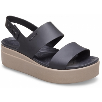 Brooklyn Low Wedge Black/Mushroom