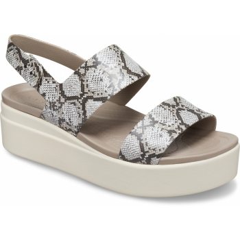 Brooklyn Low Wedge Multi/Stucco