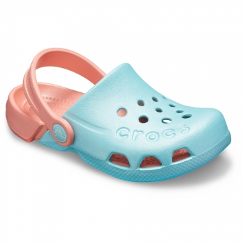 Electro Clog K Ice Blue / Melon