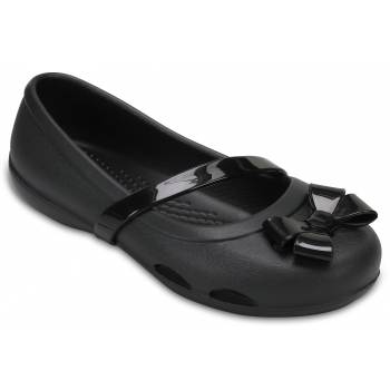 Lina Flat Kids Black