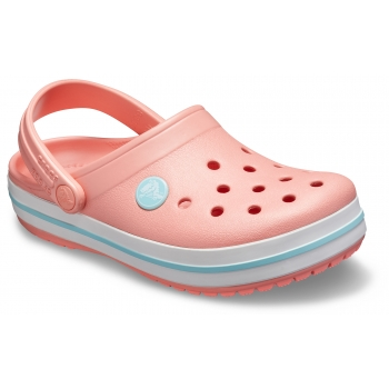 Kids' Crocband Clog Melon/Ice Blue