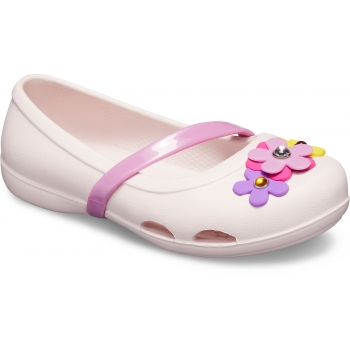 Lina Charm Flat Kid's Barely Pink