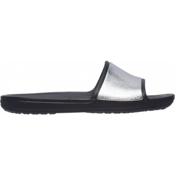 Crocs Sloane Shine Low Slide W Black