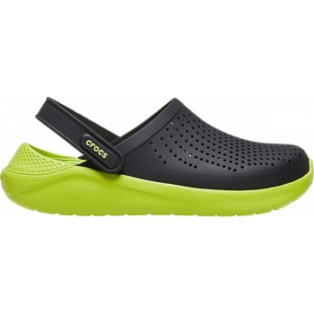 Crocs™ LiteRide Clog Black/Lime Punch