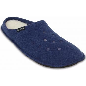 Classic Slipper Cerulean Blue / Oatmeal
