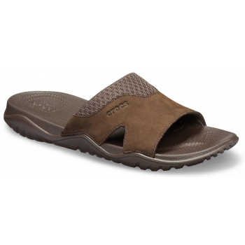 Swiftwater Leather Slide M Espresso/ Espresso