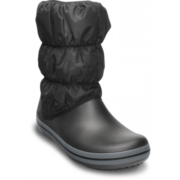 Winter Puff Boot Women Blk/Char
