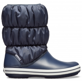 Crocs™Winter Puff Boot Women Navy/White