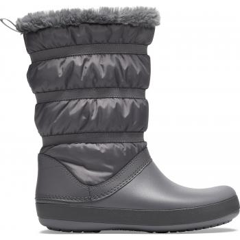 Crocband Winter Boot Women Charocal