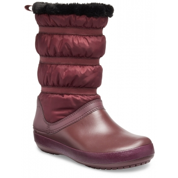 Crocband Winter Boot Women Burgundy