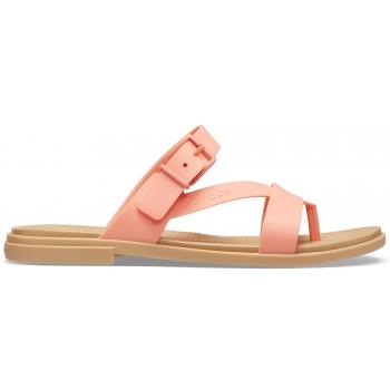 Crocs™ Tulum Toe Post Sandal W, Grapefruit/Tan