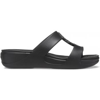 Crocs™ Monterey Shimmer SL Pon WDG W  Black
