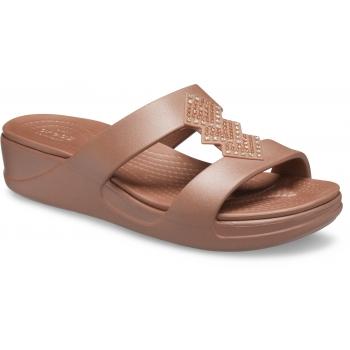 Crocs Monterey Shimmer SL Pon WDG W  Bronze