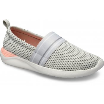 LiteRide Mesh Slip-On Women's Pearl White/White