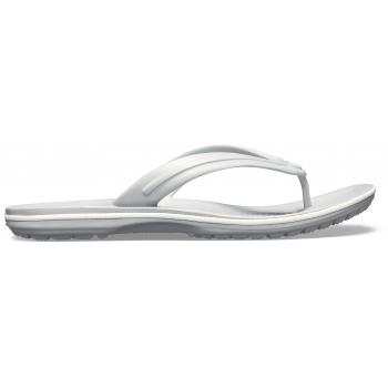 Crocband™ Flip Light Grey/White