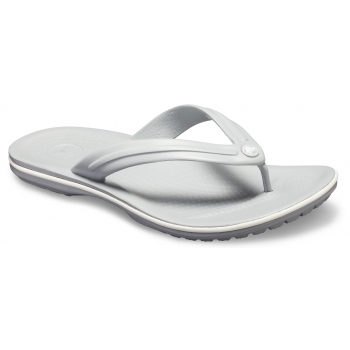 Crocband Flip Light Grey/White
