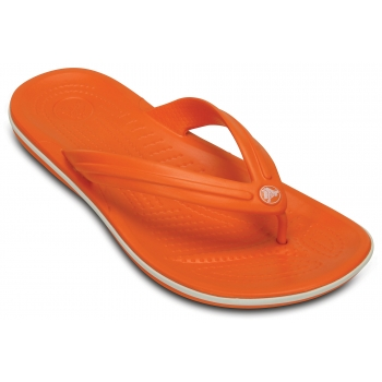 Crocband Flip Orange/White