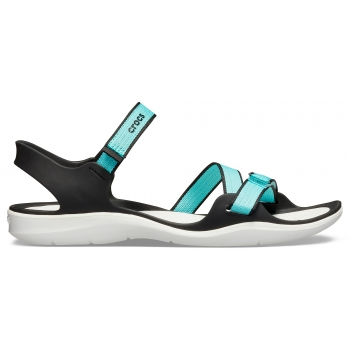 Women's Swiftwater Webbing Sandal Pool/White