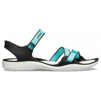 Women's Swiftwater Webbing Sandal Pool/White