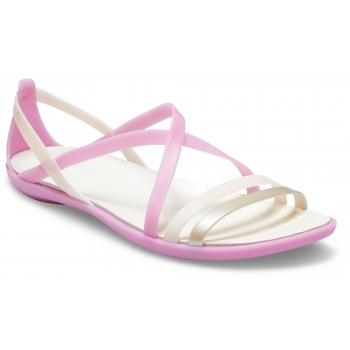 Isabella Strappy Sandal W Violet/Oyster