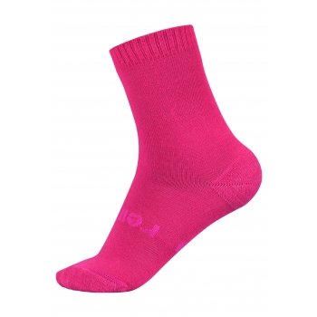 Warm Woolmix Socks Cranberry Pink