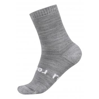 Warm Woolmix Socks Melange Grey