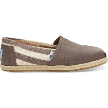 Stripe University Women's Classic Alp Dark Grey