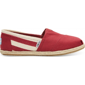 Stripe University Women's Classic Alp Red