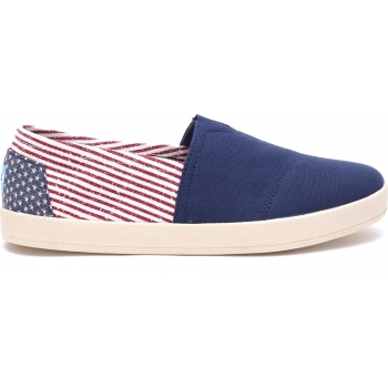Canvas Flag Men's Avalon Sneaker Americana