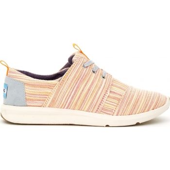 Stripe Women's Del Rey Sneaker Orange / Multi